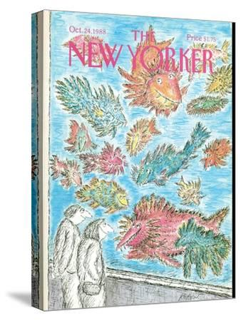 The New Yorker Cover - October 24, 1988-Edward Koren-Stretched Canvas Print