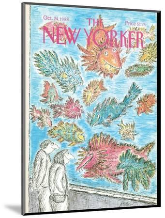 The New Yorker Cover - October 24, 1988-Edward Koren-Mounted Premium Giclee Print