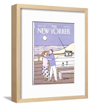 The New Yorker Cover - July 17, 1989-Devera Ehrenberg-Framed Premium Giclee Print