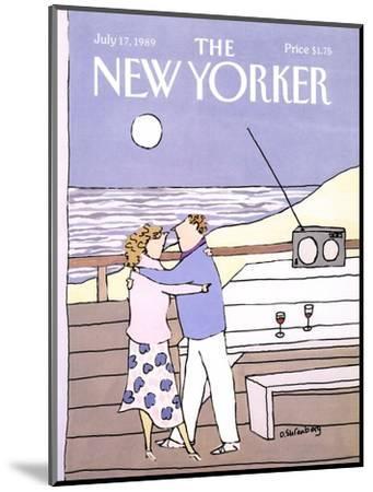 The New Yorker Cover - July 17, 1989-Devera Ehrenberg-Mounted Premium Giclee Print