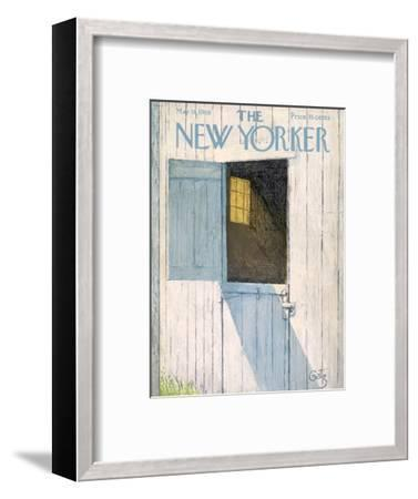 The New Yorker Cover - May 18, 1968-Arthur Getz-Framed Premium Giclee Print