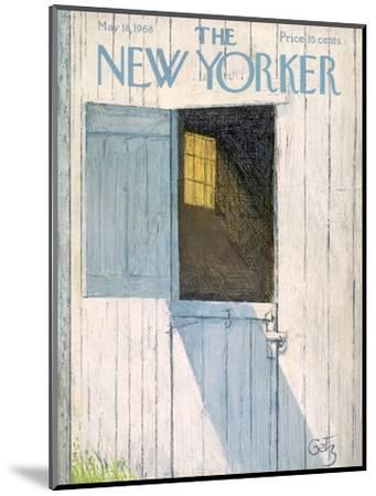 The New Yorker Cover - May 18, 1968-Arthur Getz-Mounted Premium Giclee Print