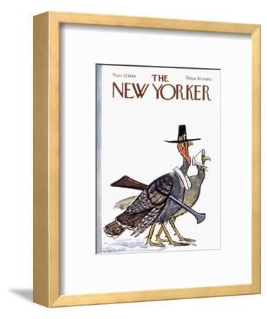 The New Yorker Cover - November 27, 1965-Frank Modell-Framed Premium Giclee Print
