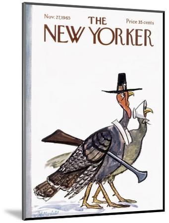 The New Yorker Cover - November 27, 1965-Frank Modell-Mounted Premium Giclee Print