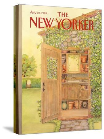 The New Yorker Cover - July 10, 1989-Jenni Oliver-Stretched Canvas Print