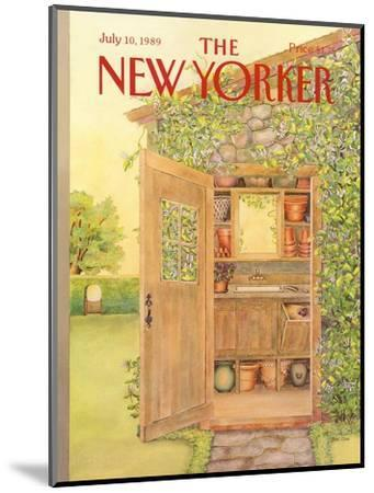 The New Yorker Cover - July 10, 1989-Jenni Oliver-Mounted Premium Giclee Print