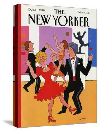 The New Yorker Cover - December 11, 1989-Barbara Westman-Stretched Canvas Print