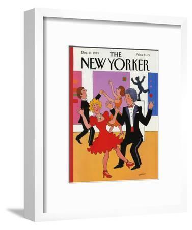 The New Yorker Cover - December 11, 1989-Barbara Westman-Framed Premium Giclee Print