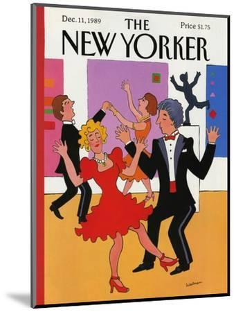 The New Yorker Cover - December 11, 1989-Barbara Westman-Mounted Premium Giclee Print