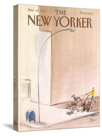 The New Yorker Cover - March 25, 1985-Paul Degen-Stretched Canvas Print