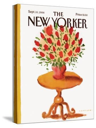 The New Yorker Cover - September 10, 1984-Abel Quezada-Stretched Canvas Print
