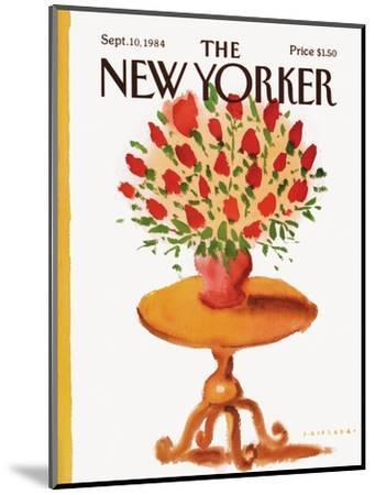 The New Yorker Cover - September 10, 1984-Abel Quezada-Mounted Premium Giclee Print