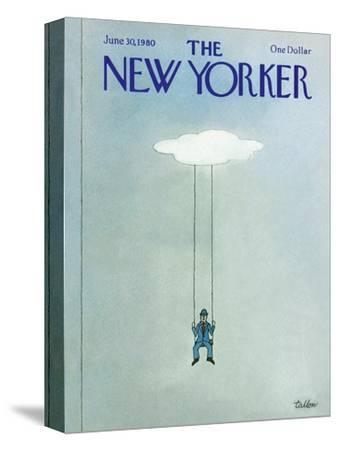 The New Yorker Cover - June 30, 1980-Robert Tallon-Stretched Canvas Print