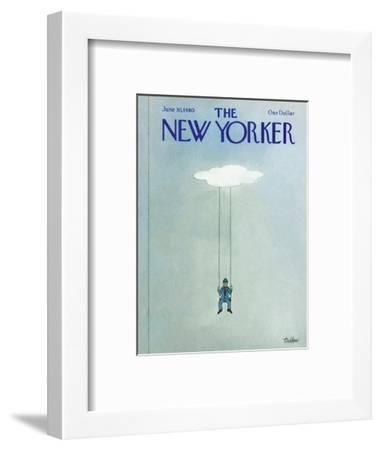 The New Yorker Cover - June 30, 1980-Robert Tallon-Framed Premium Giclee Print
