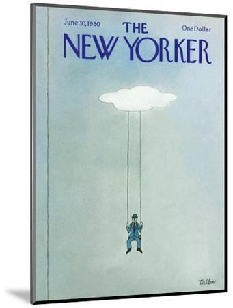 The New Yorker Cover - June 30, 1980-Robert Tallon-Mounted Premium Giclee Print