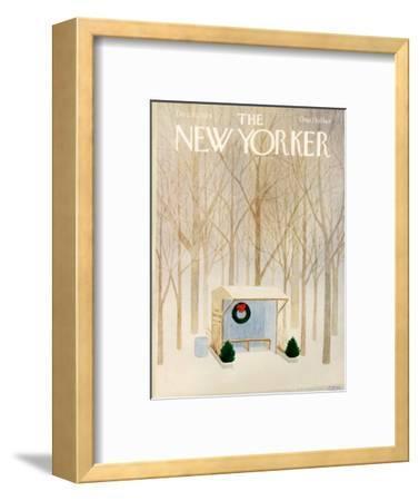The New Yorker Cover - December 10, 1979-Charles E. Martin-Framed Premium Giclee Print