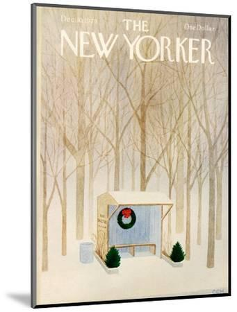 The New Yorker Cover - December 10, 1979-Charles E. Martin-Mounted Premium Giclee Print