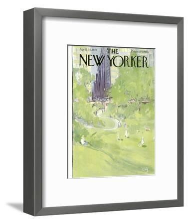 The New Yorker Cover - April 24, 1971-Arthur Getz-Framed Premium Giclee Print