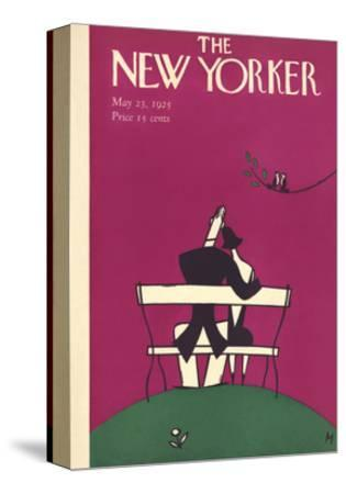 The New Yorker Cover - May 23, 1925-Julian de Miskey-Stretched Canvas Print