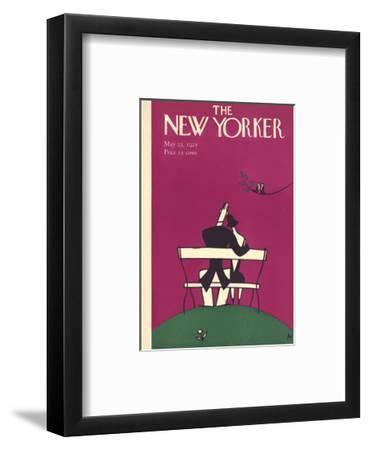 The New Yorker Cover - May 23, 1925-Julian de Miskey-Framed Premium Giclee Print