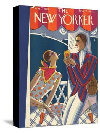 The New Yorker Cover - August 7, 1926-Stanley W. Reynolds-Stretched Canvas Print