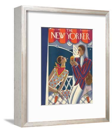 The New Yorker Cover - August 7, 1926-Stanley W. Reynolds-Framed Premium Giclee Print