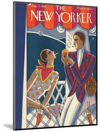 The New Yorker Cover - August 7, 1926-Stanley W. Reynolds-Mounted Premium Giclee Print