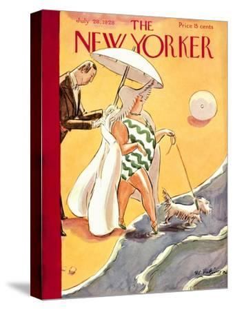 The New Yorker Cover - July 28, 1928-Helen E. Hokinson-Stretched Canvas Print