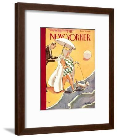 The New Yorker Cover - July 28, 1928-Helen E. Hokinson-Framed Premium Giclee Print