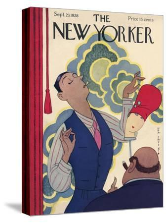 The New Yorker Cover - September 29, 1928-Rea Irvin-Stretched Canvas Print