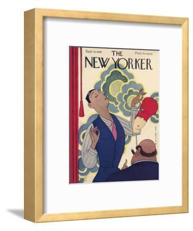 The New Yorker Cover - September 29, 1928-Rea Irvin-Framed Premium Giclee Print