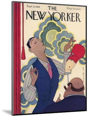The New Yorker Cover - September 29, 1928-Rea Irvin-Mounted Premium Giclee Print