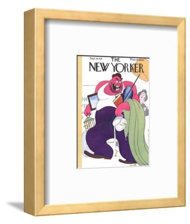 The New Yorker Cover - September 26, 1931-Rea Irvin-Framed Premium Giclee Print