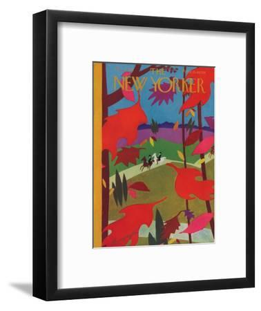 The New Yorker Cover - October 17, 1931-Adolph K. Kronengold-Framed Premium Giclee Print