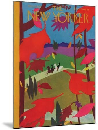The New Yorker Cover - October 17, 1931-Adolph K. Kronengold-Mounted Premium Giclee Print