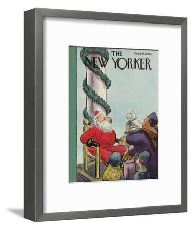 The New Yorker Cover - December 3, 1932-Helen E. Hokinson-Framed Premium Giclee Print