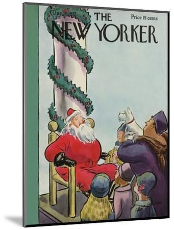 The New Yorker Cover - December 3, 1932-Helen E. Hokinson-Mounted Premium Giclee Print