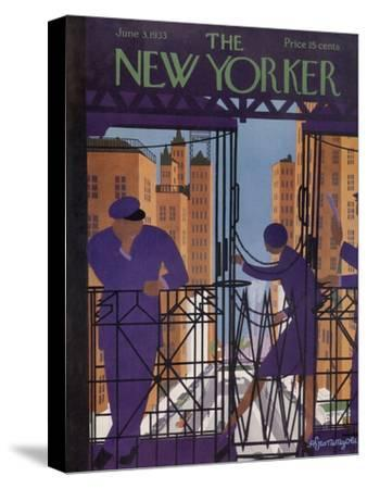 The New Yorker Cover - June 3, 1933-Adolph K. Kronengold-Stretched Canvas Print