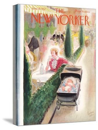 The New Yorker Cover - June 26, 1937-Richard Decker-Stretched Canvas Print