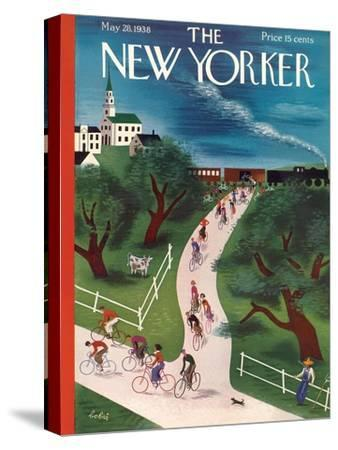The New Yorker Cover - May 28, 1938-Victor Bobritsky-Stretched Canvas Print