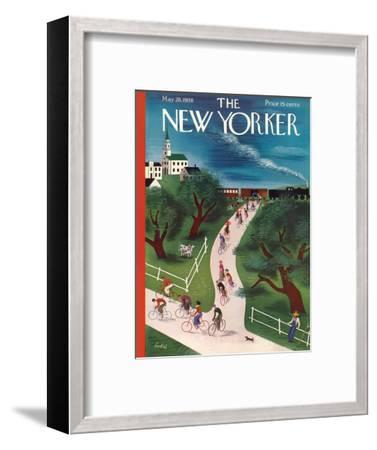 The New Yorker Cover - May 28, 1938-Victor Bobritsky-Framed Premium Giclee Print