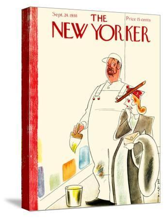The New Yorker Cover - September 24, 1938-Rea Irvin-Stretched Canvas Print