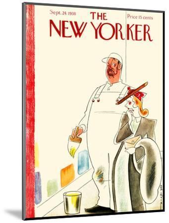 The New Yorker Cover - September 24, 1938-Rea Irvin-Mounted Premium Giclee Print