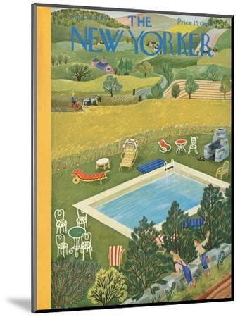 The New Yorker Cover - August 10, 1946-Ilonka Karasz-Mounted Premium Giclee Print