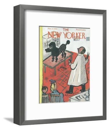 The New Yorker Cover - November 9, 1946-Abe Birnbaum-Framed Premium Giclee Print