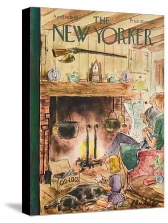 The New Yorker Cover - April 24, 1948-Perry Barlow-Stretched Canvas Print
