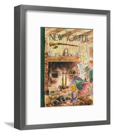 The New Yorker Cover - April 24, 1948-Perry Barlow-Framed Premium Giclee Print