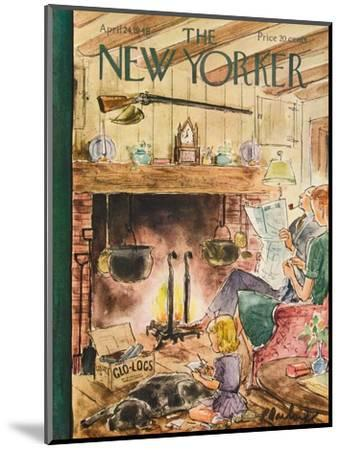 The New Yorker Cover - April 24, 1948-Perry Barlow-Mounted Premium Giclee Print