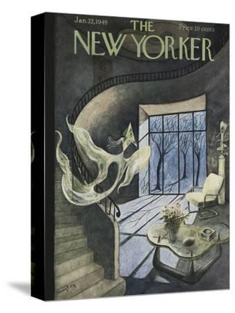 The New Yorker Cover - January 22, 1949-Mary Petty-Stretched Canvas Print