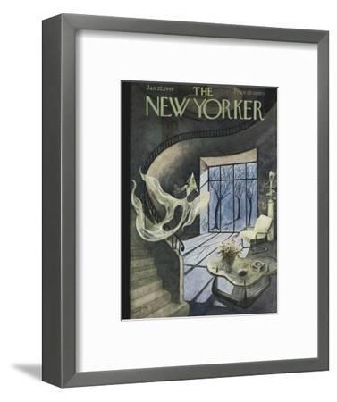 The New Yorker Cover - January 22, 1949-Mary Petty-Framed Premium Giclee Print